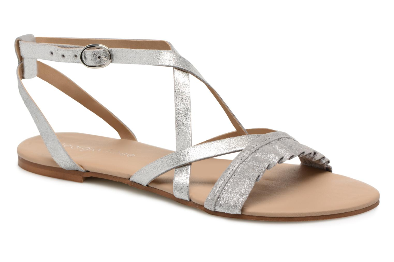 Sandals Georgia Rose Dovolant Silver detailed view/ Pair view