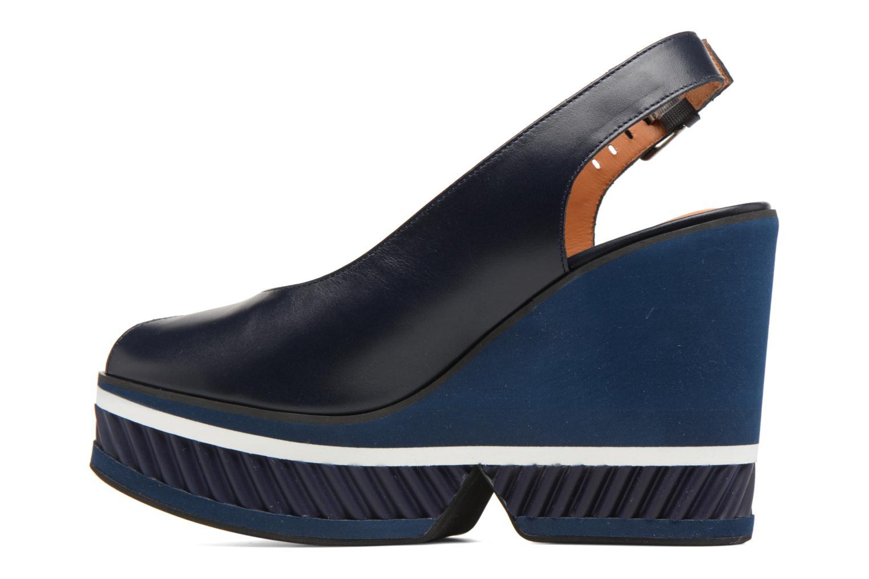 Sandals Clergerie DALLAN Blue front view