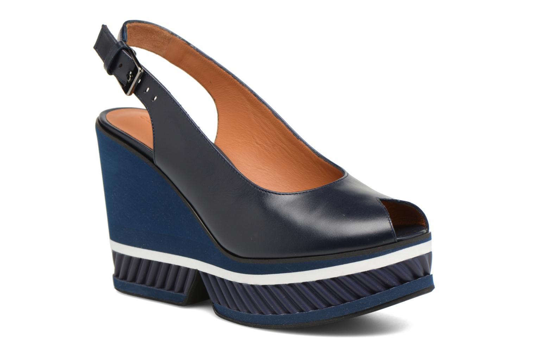 Sandals Clergerie DALLAN Blue detailed view/ Pair view