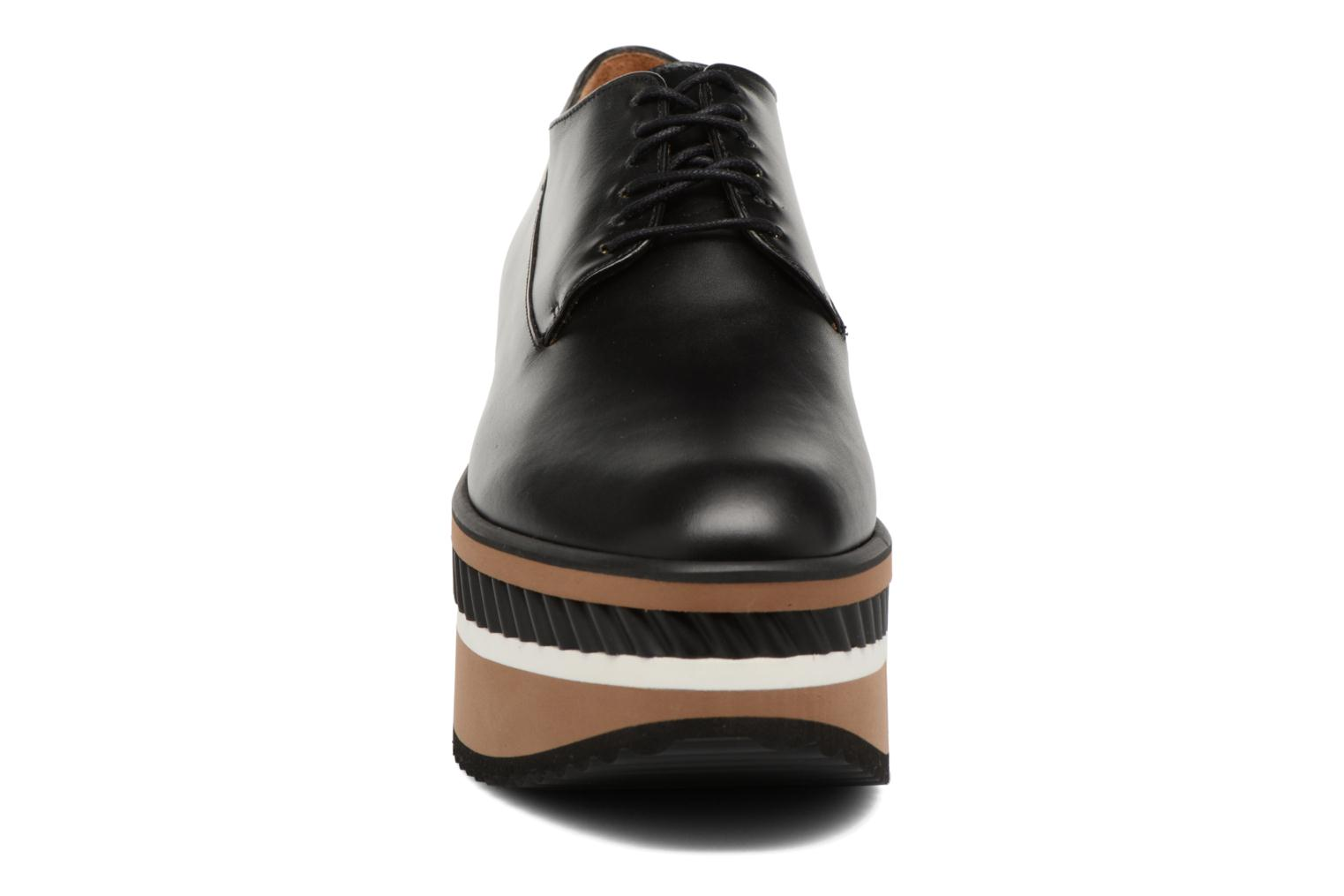 Lace-up shoes Clergerie LOMIA Black model view