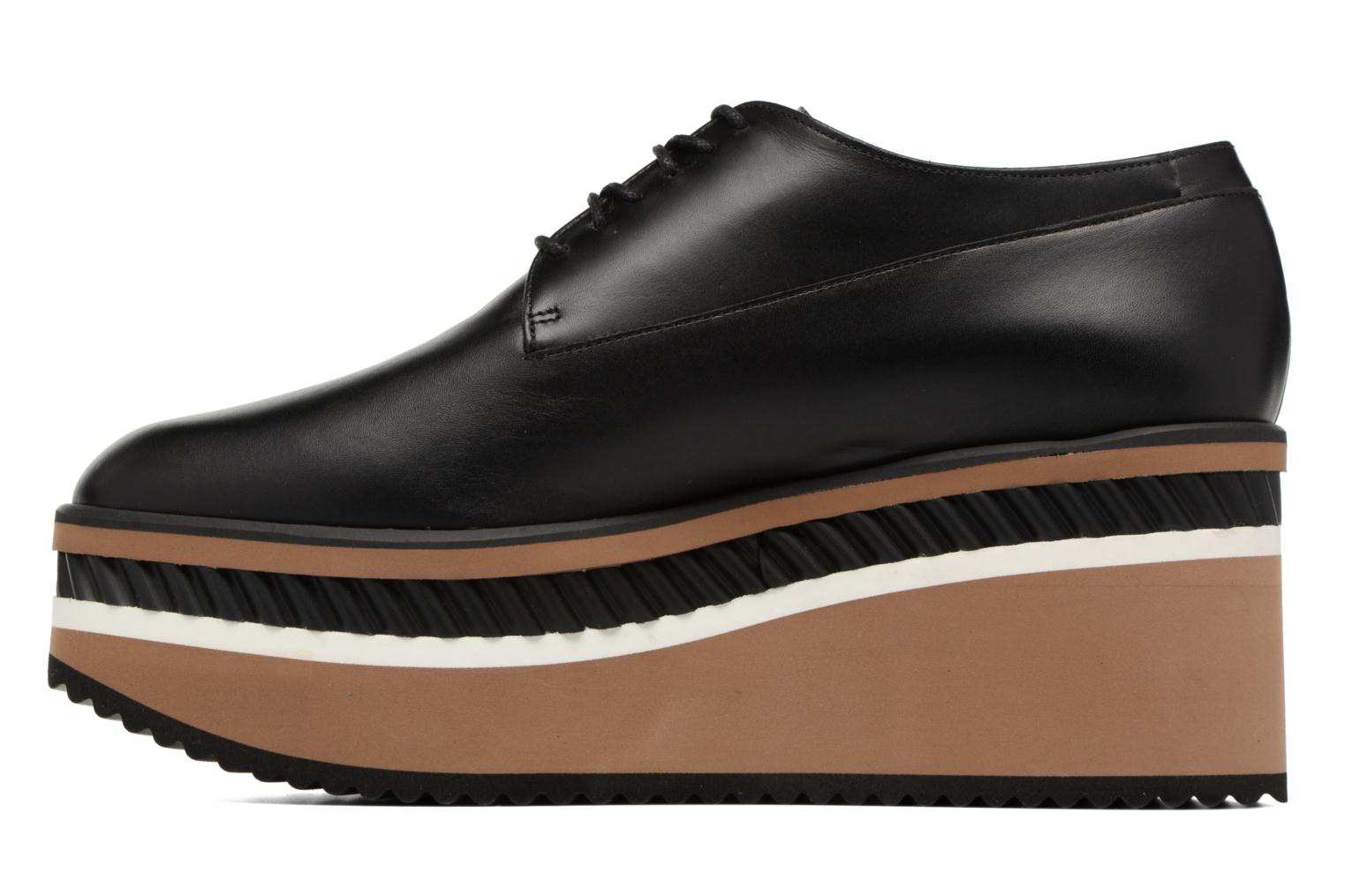 Lace-up shoes Clergerie LOMIA Black front view