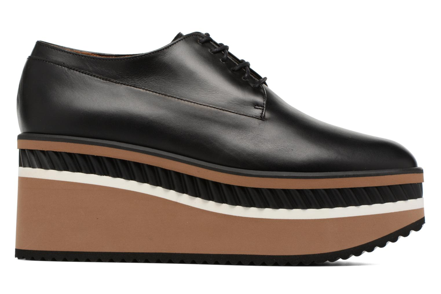 Lace-up shoes Clergerie LOMIA Black back view
