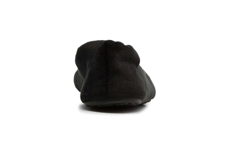 Pantoffels Dim D Bearn Zwart rechts