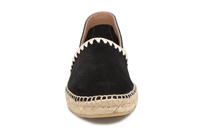 Espadrilles Georgia Rose Ispan Noir vue portées chaussures