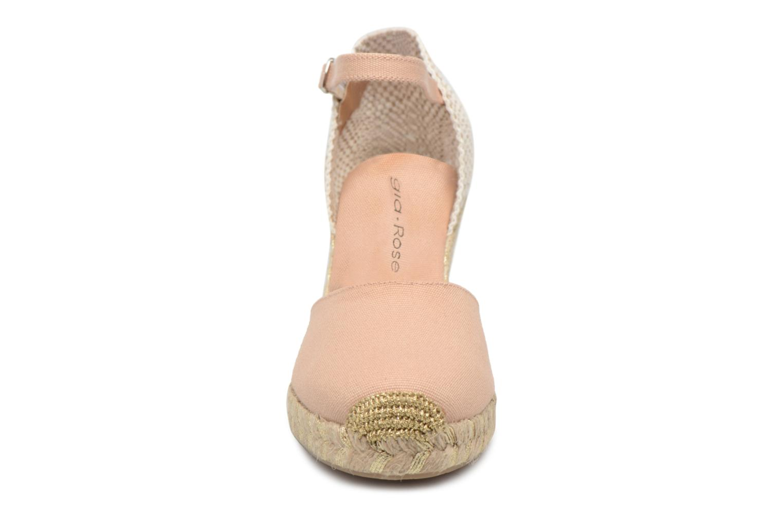 Espadrilles Georgia Rose Inagold Beige vue portées chaussures