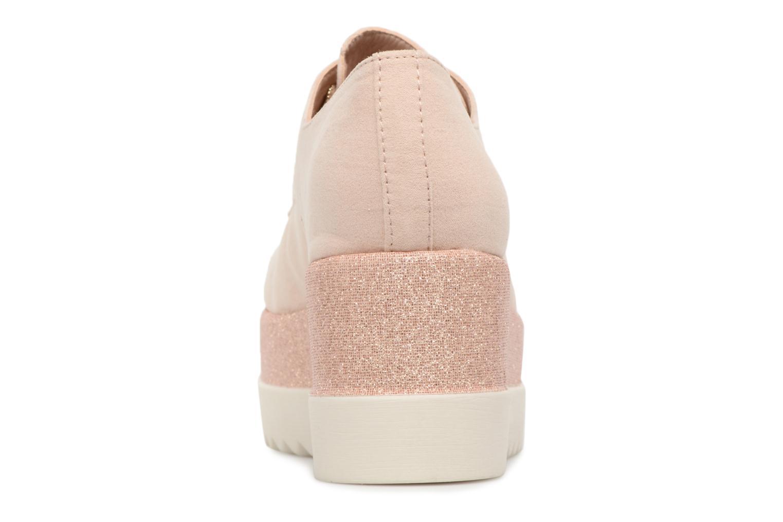 Chaussures à lacets I Love Shoes Thasty Rose vue droite