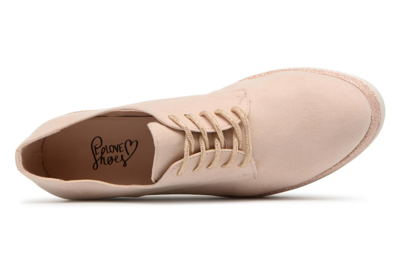 Chaussures à lacets I Love Shoes Thasty Rose vue gauche