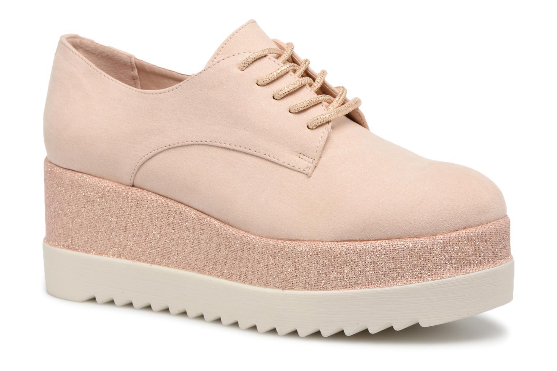 Chaussures à lacets I Love Shoes Thasty Rose vue détail/paire
