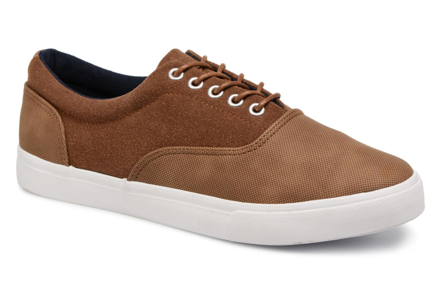 Trainers I Love Shoes Thomelo Brown detailed view/ Pair view