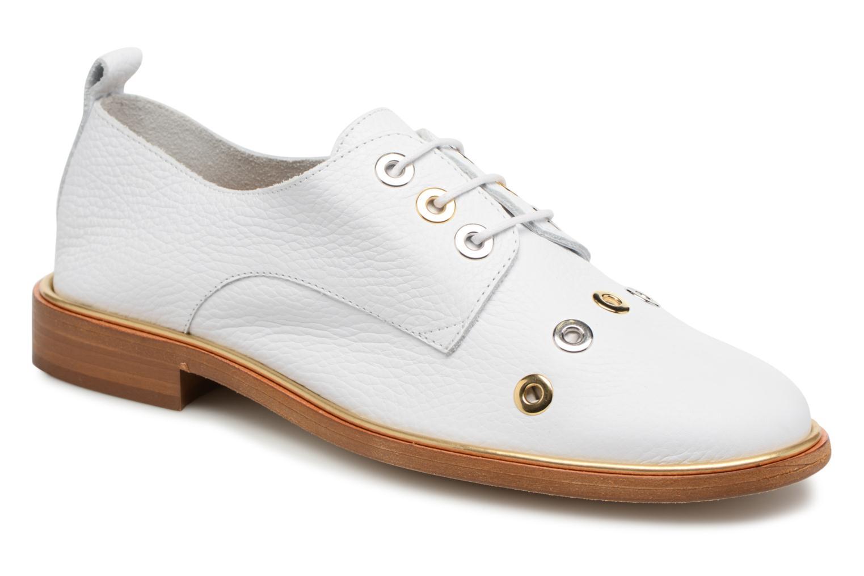 b49f2e38 Zapatos promocionales MAURICE manufacture Jadena - Version 1 (Blanco) -  Zapatos con cordones Los