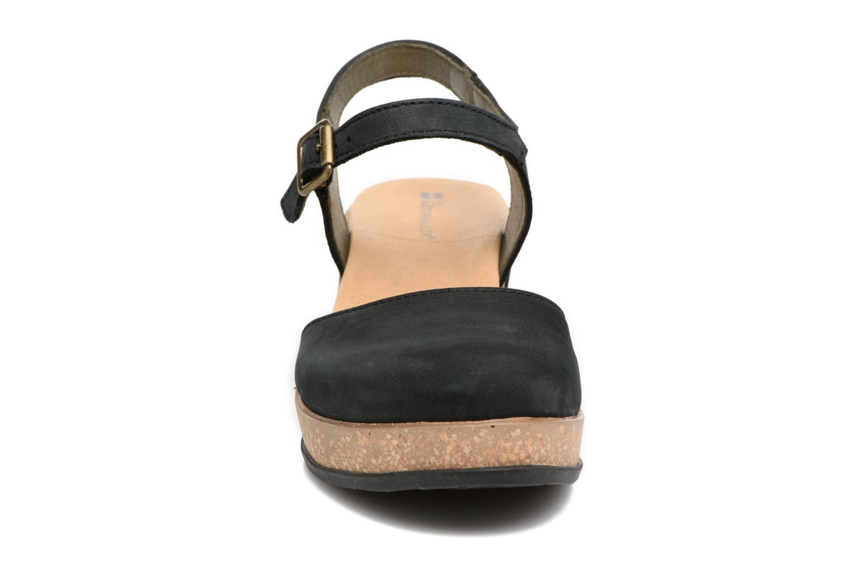 Sandales et nu-pieds El Naturalista Leaves N5001 Noir vue portées chaussures