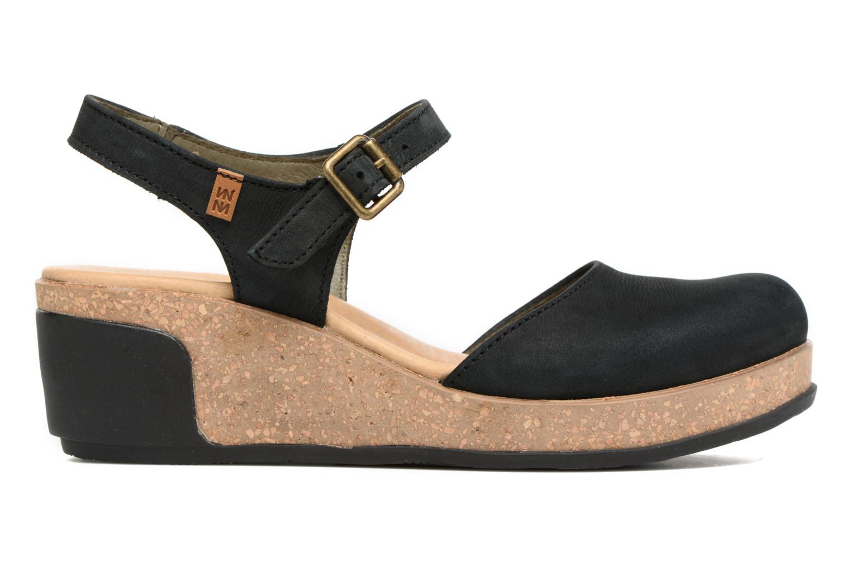 Sandales et nu-pieds El Naturalista Leaves N5001 Noir vue derrière