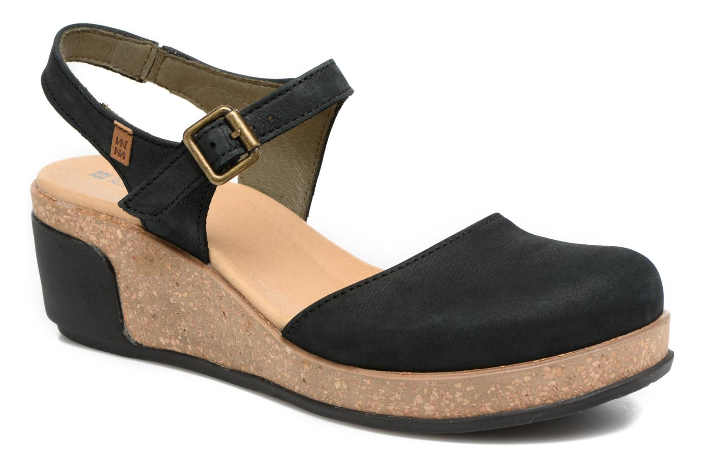 Grandes descuentos últimos zapatos El Naturalista Leaves N5001 (Negro) - Sandalias Descuento