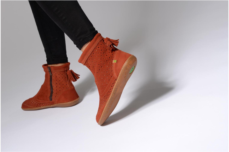 Boots en enkellaarsjes El Naturalista El Viajero N262 Rood onder