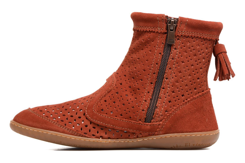 Boots en enkellaarsjes El Naturalista El Viajero N262 Rood voorkant