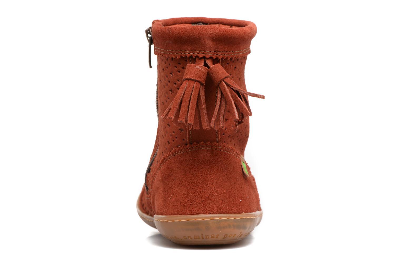 Bottines et boots El Naturalista El Viajero N262 Rouge vue droite