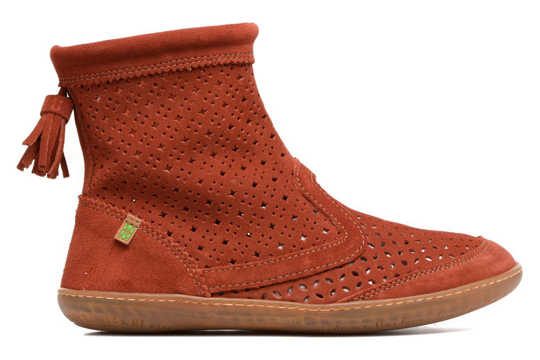 Boots en enkellaarsjes El Naturalista El Viajero N262 Rood achterkant