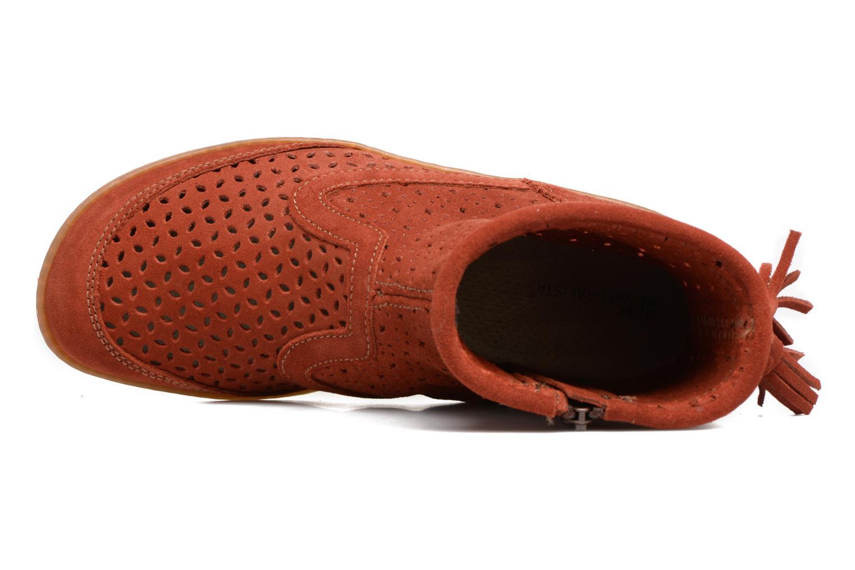 Bottines et boots El Naturalista El Viajero N262 Rouge vue gauche