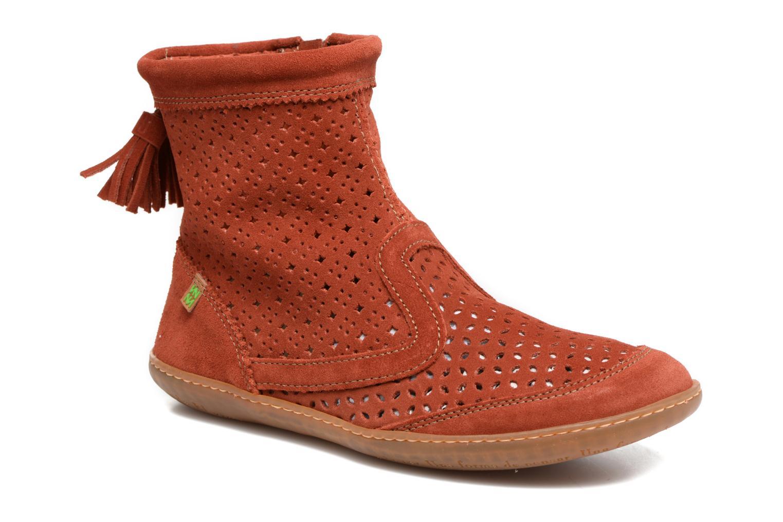 Bottines et boots El Naturalista El Viajero N262 Rouge vue détail/paire