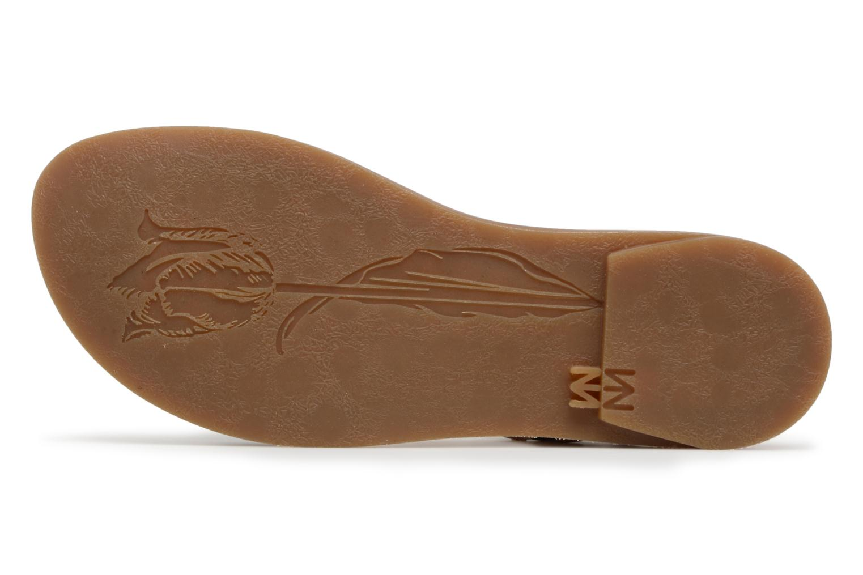 Sandales et nu-pieds El Naturalista Tulip N5181 Marron vue haut