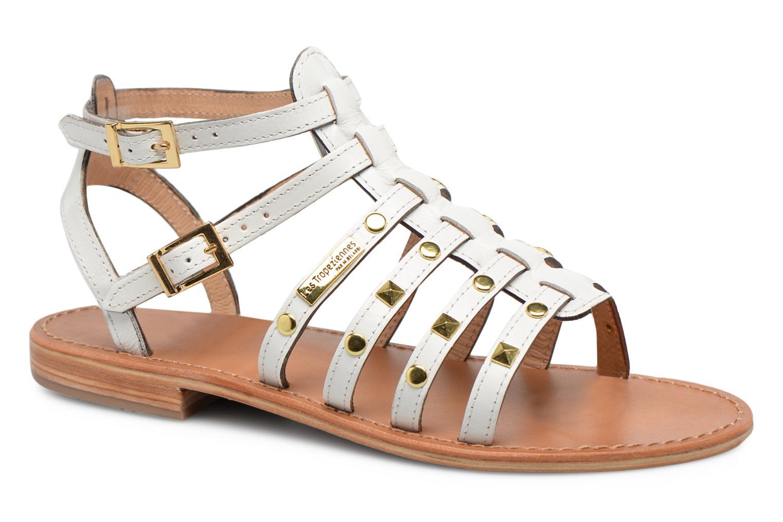 Zapatos promocionales Les Tropéziennes par M Belarbi Hiclou (Blanco) - Sandalias   Descuento de la marca
