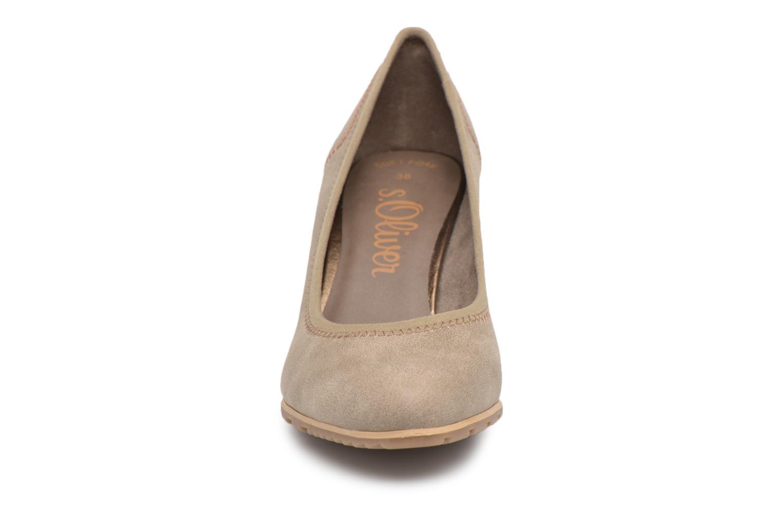 Escarpins S.Oliver Nyelle 2 Beige vue portées chaussures