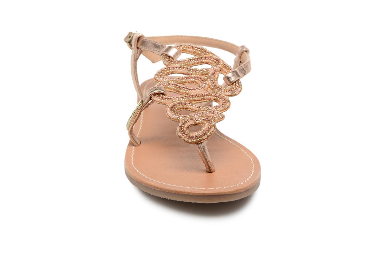 Sandales et nu-pieds Les Tropéziennes par M Belarbi Orazio Rose vue portées chaussures