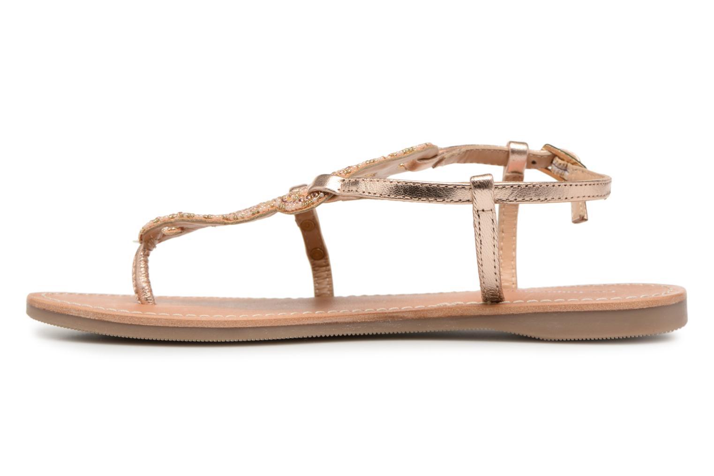 Sandales et nu-pieds Les Tropéziennes par M Belarbi Orazio Rose vue face