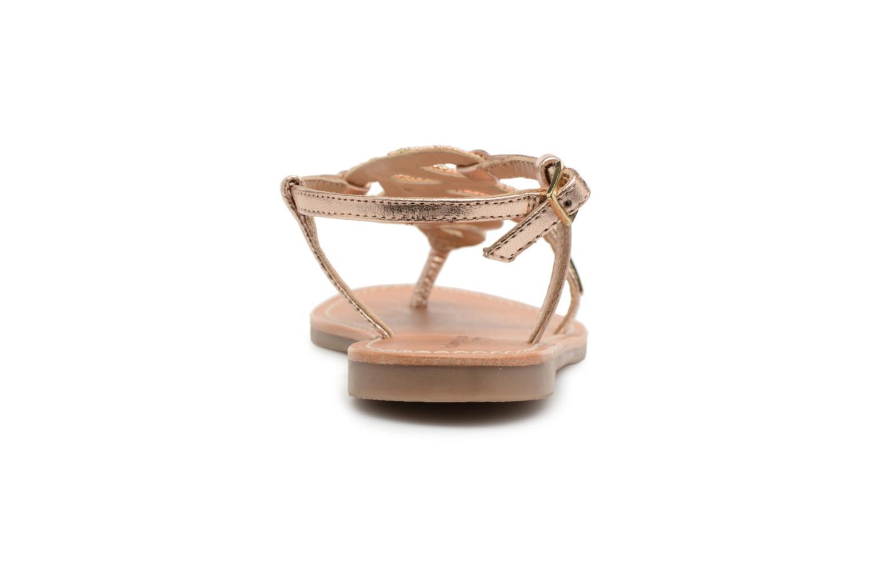 Sandales et nu-pieds Les Tropéziennes par M Belarbi Orazio Rose vue droite