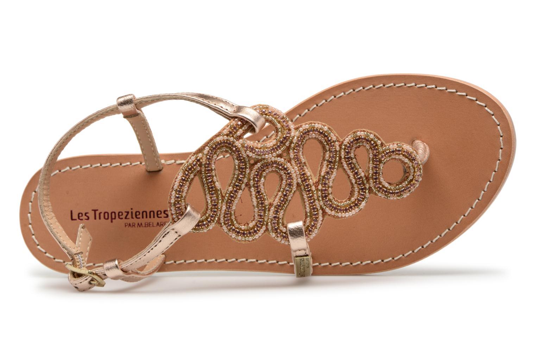 Sandales et nu-pieds Les Tropéziennes par M Belarbi Orazio Rose vue gauche