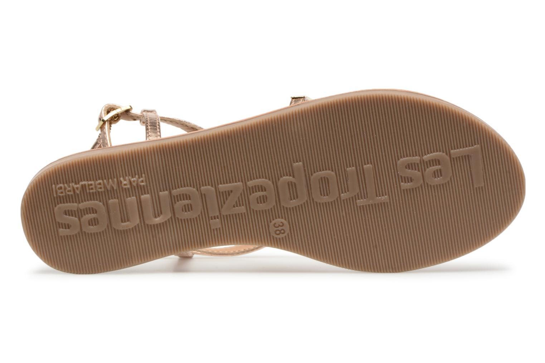 Sandales et nu-pieds Les Tropéziennes par M Belarbi Orazio Rose vue haut