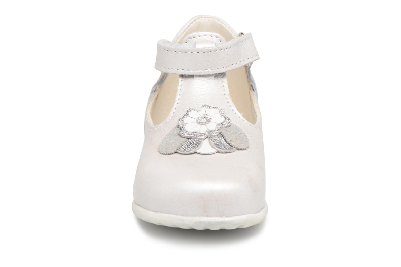Chaussures à scratch Bopy Zora Gris vue portées chaussures