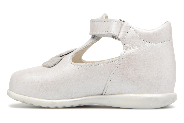 Chaussures à scratch Bopy Zora Gris vue face