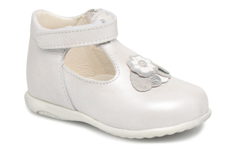 Chaussures à scratch Bopy Zora Gris vue détail/paire