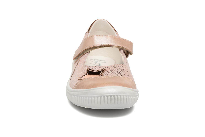 Ballerines Bopy Salima Rose vue portées chaussures