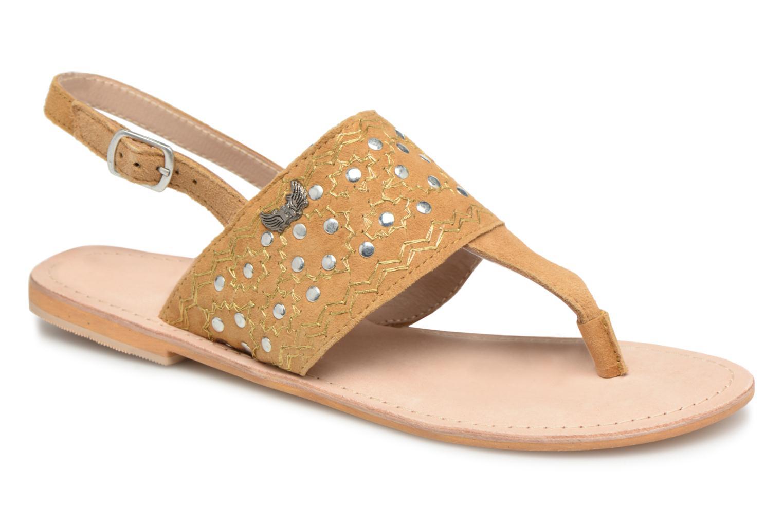 Kaporal Moost (Jaune) - Sandales et nu-pieds chez Sarenza (315298)