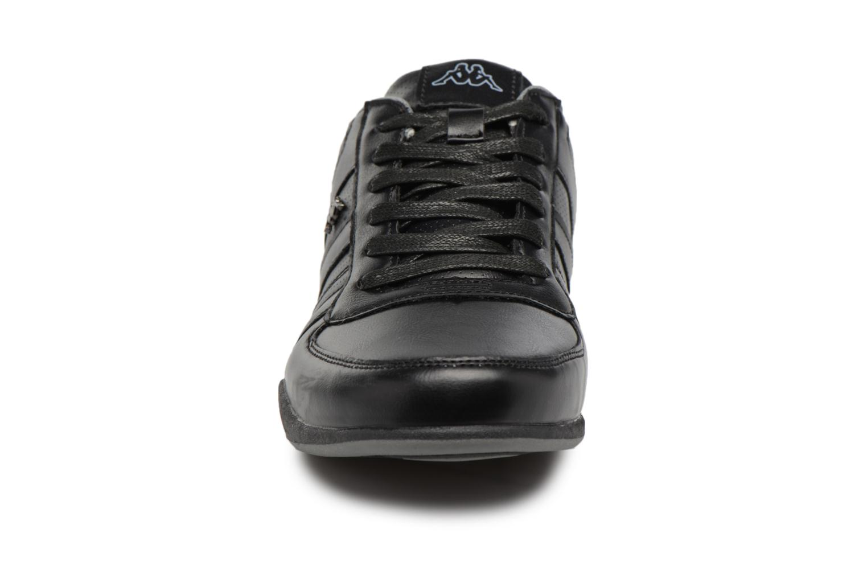 Baskets Kappa Viron Noir vue portées chaussures
