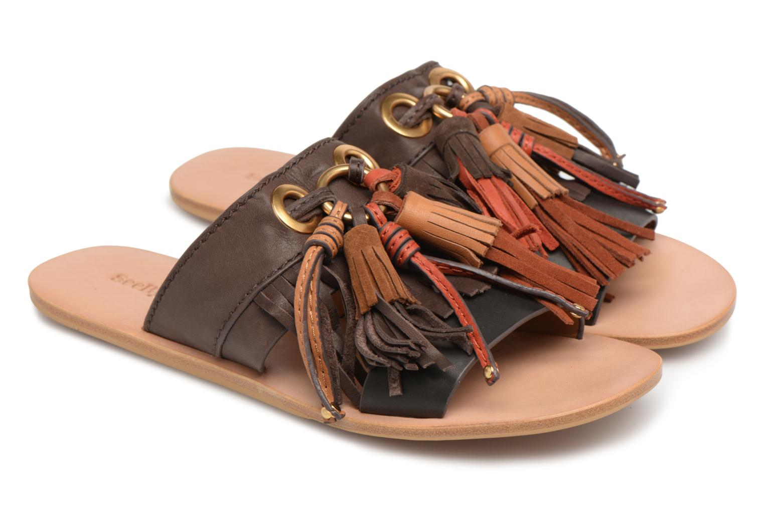 Mules & clogs See by Chloé Tania Multicolor 3/4 view