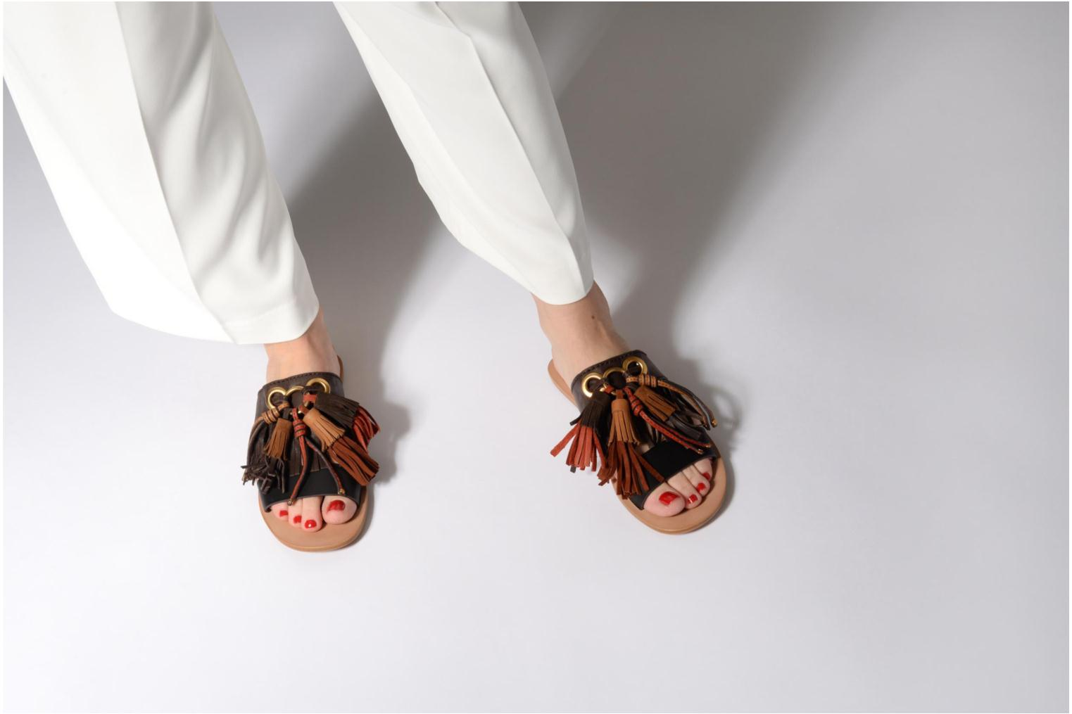 Mules & clogs See by Chloé Tania Multicolor view from underneath / model view