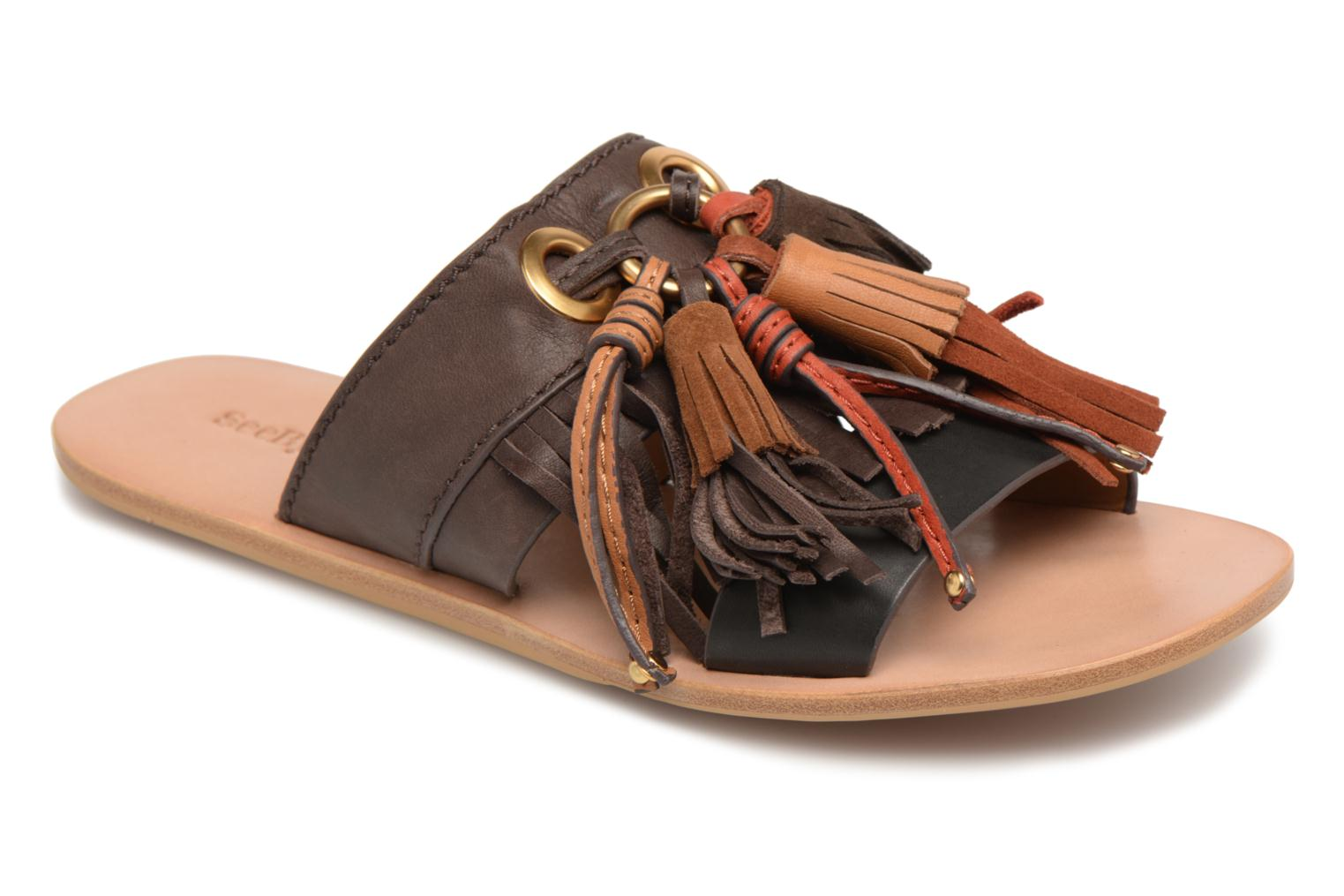 Mules & clogs See by Chloé Tania Multicolor detailed view/ Pair view