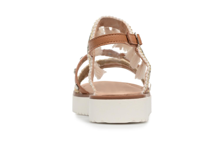 Sandales et nu-pieds MTNG Carli Marron vue droite