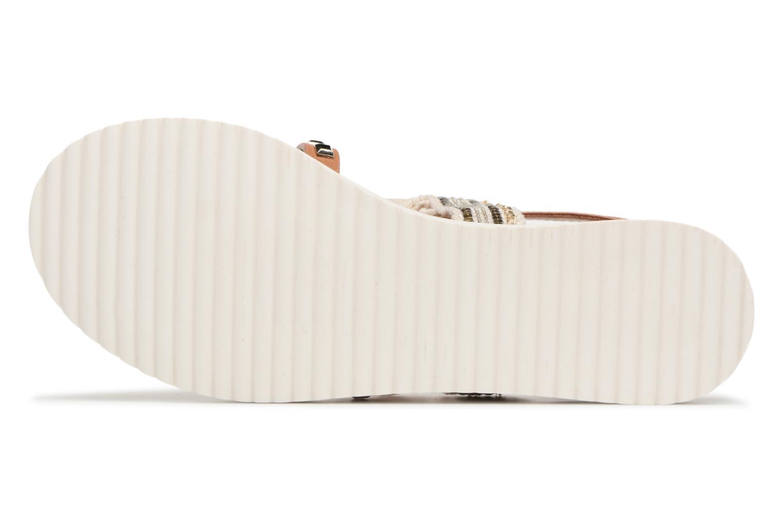 Sandales et nu-pieds MTNG Carli Marron vue haut