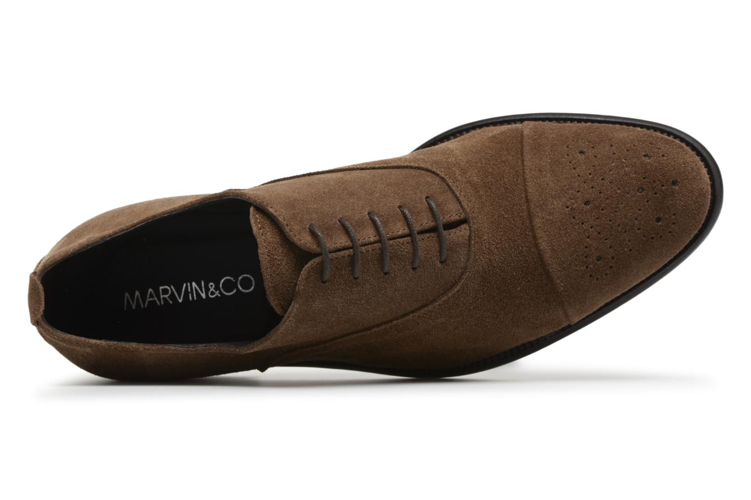 Veterschoenen Marvin&Co Duck Bruin links