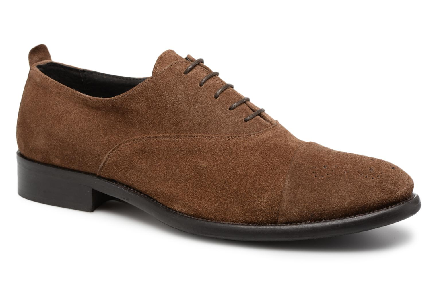Veterschoenen Marvin&Co Duck Bruin detail