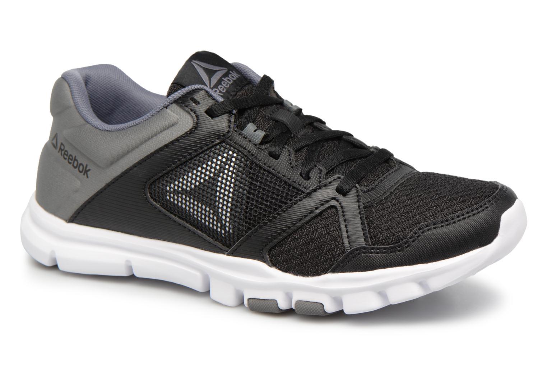 Sport shoes Reebok Yourflex Trainette 10 Mt Black detailed view/ Pair view