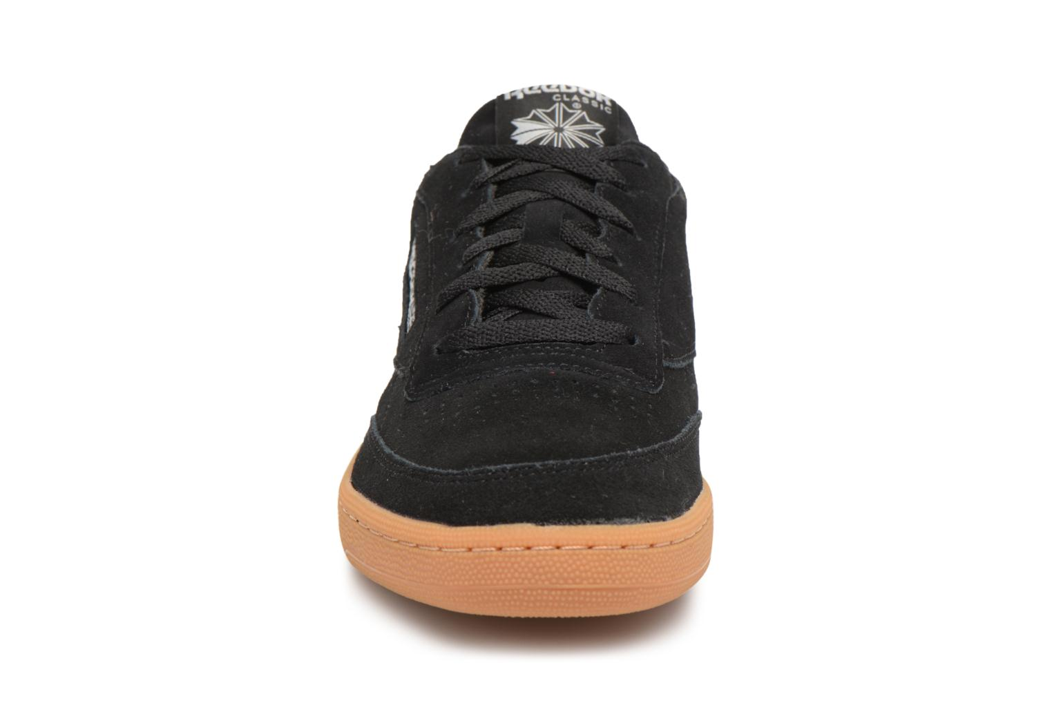 Trainers Reebok Club C 85 Gs Black model view