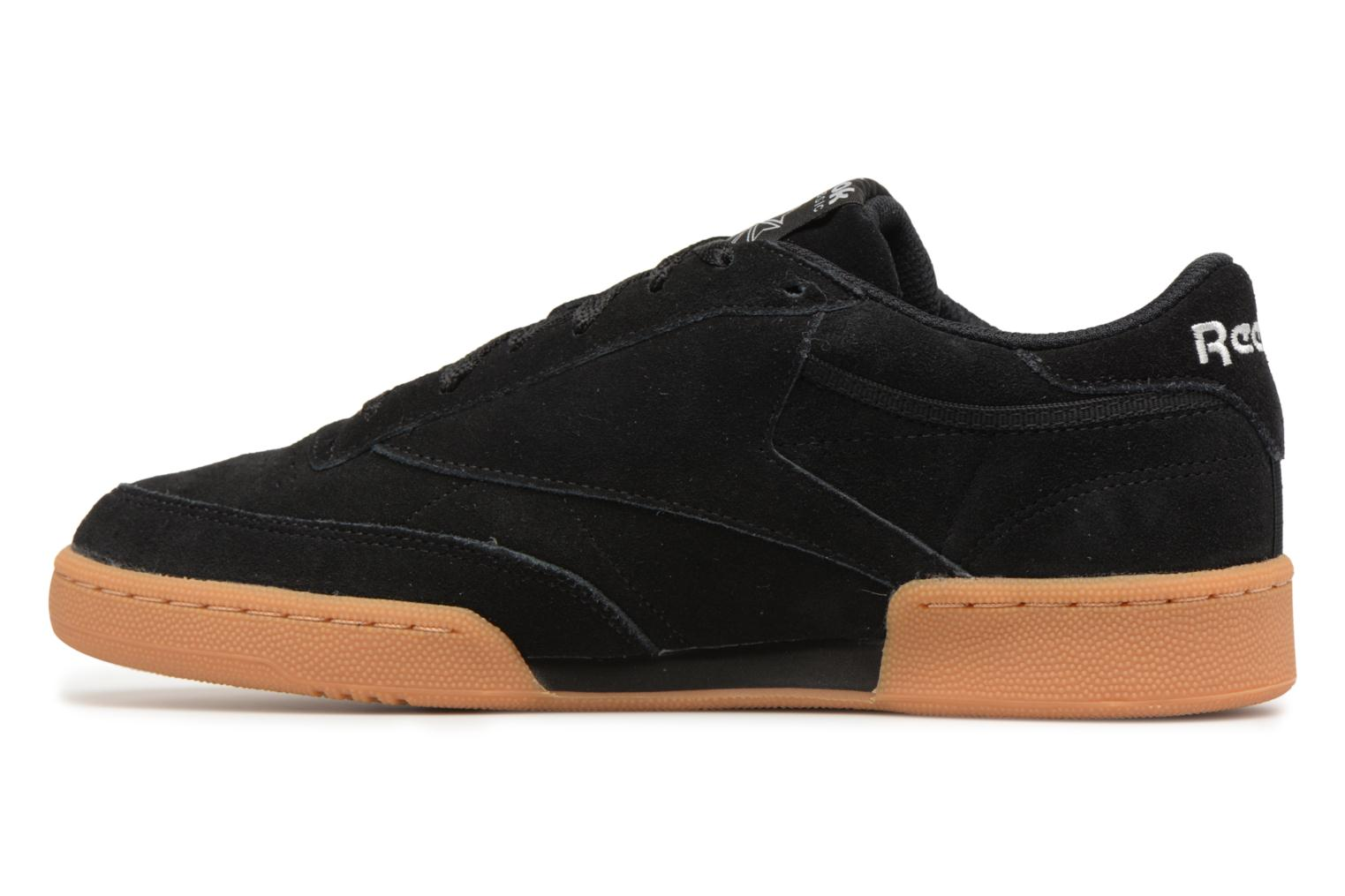 Trainers Reebok Club C 85 Gs Black front view