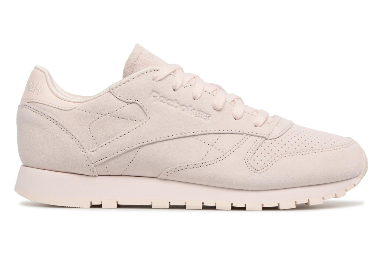 Classic Nbk Pink Leather Chalk Pale Pink Reebok EZWwUdq0HE