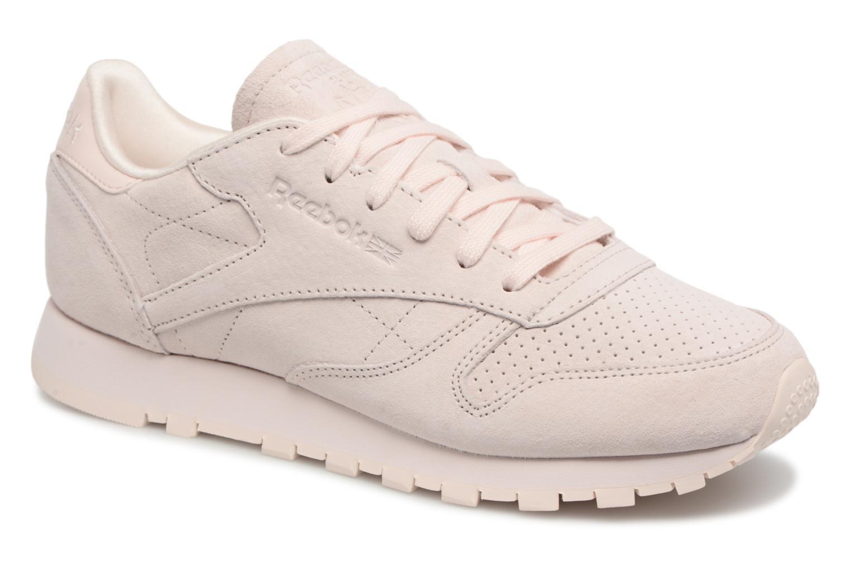 Zapatos promocionales Reebok Classic Leather Nbk (Rosa) - Deportivas   Los zapatos más populares para hombres y mujeres