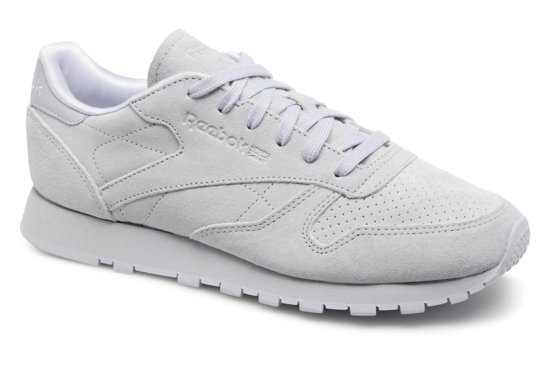 Zapatos promocionales Reebok Classic Leather Nbk (Gris) - Deportivas   Gran descuento